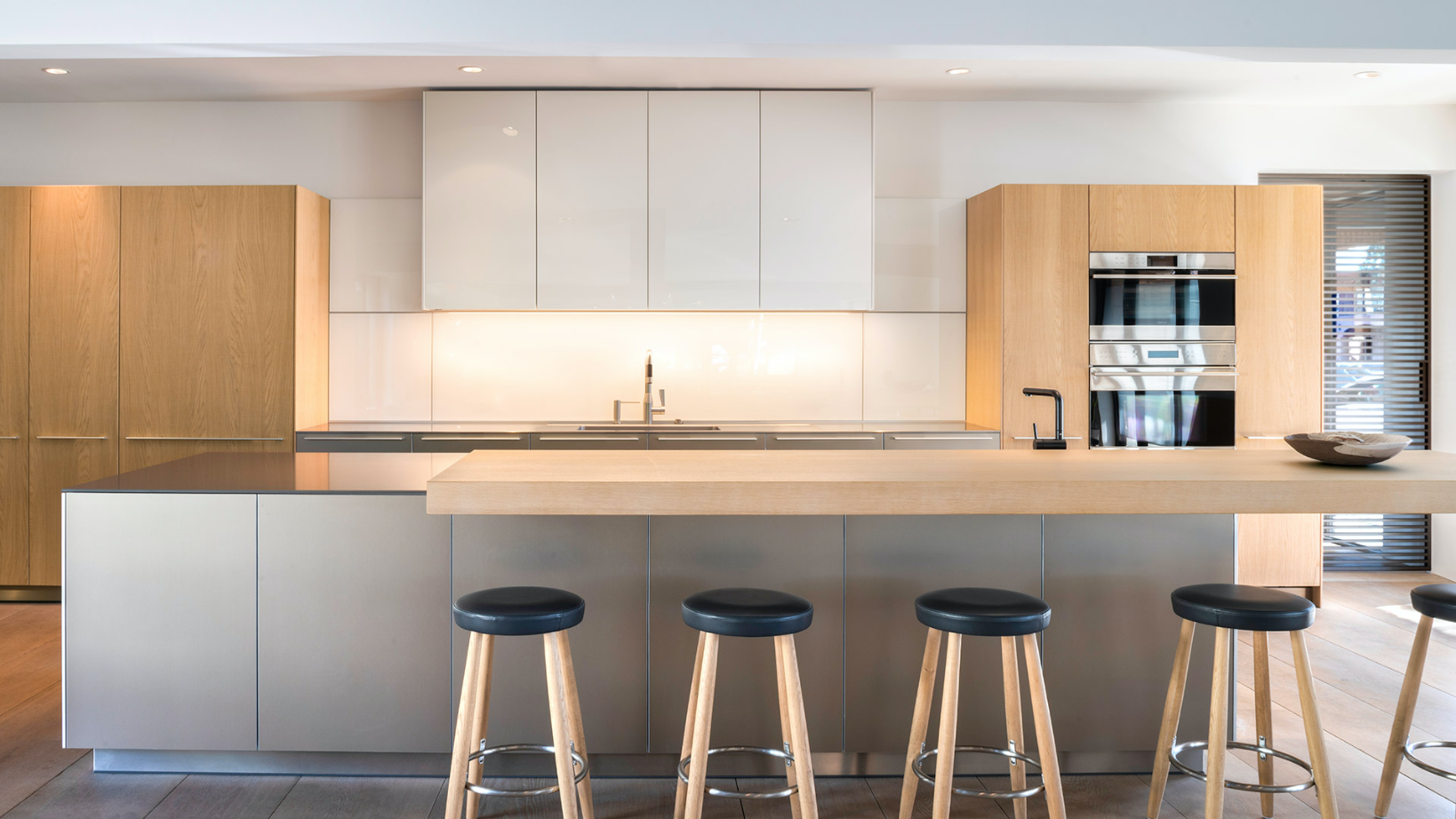 Exquisite bulthaup kitchens blend form and function.