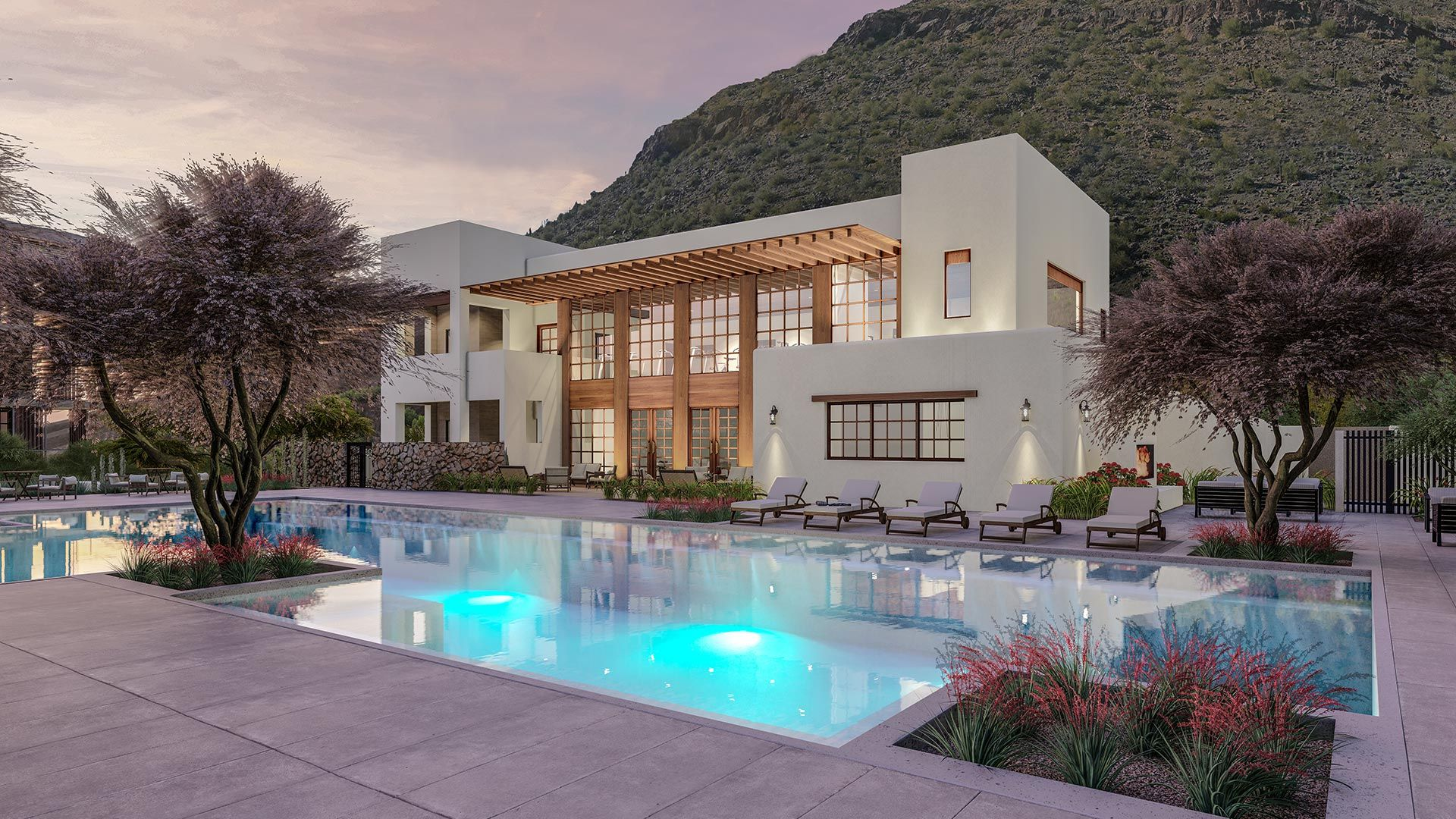 The Mountain Club – a private club that celebrates the iconic Camelback Mountain.