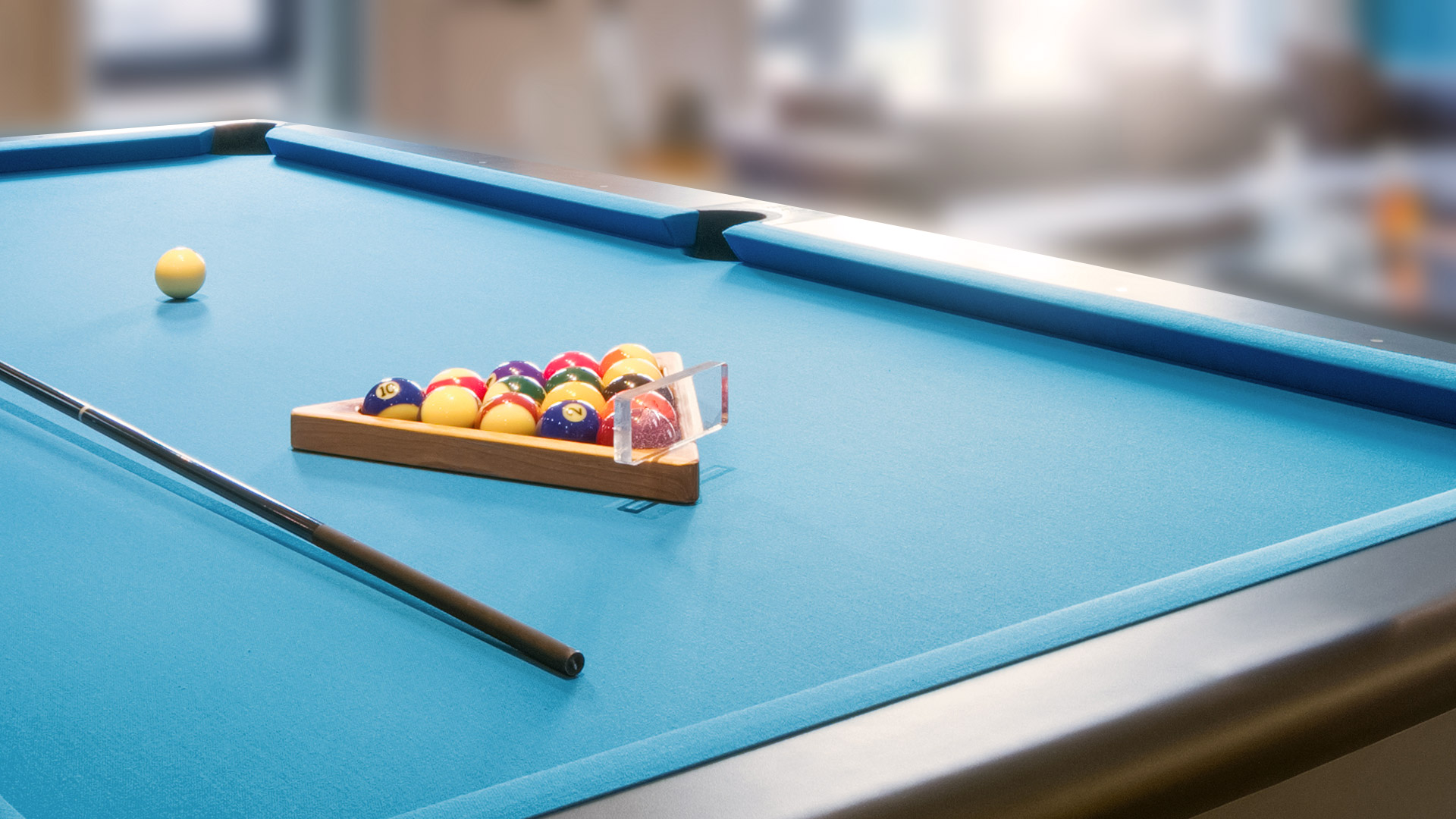 Relax in the Games Room.